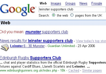 Leinster Supporters Club