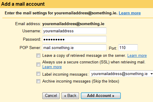GMail Accounts 3