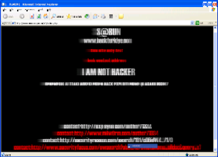 Eamon Ryan website hacked