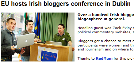 European Commission Blogging