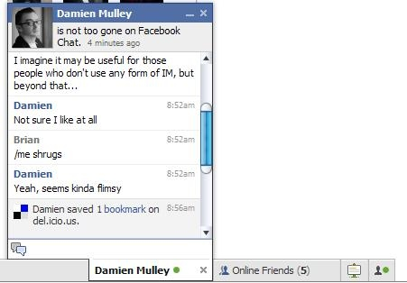 Facebook Chat 2