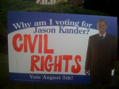 Jason Kander sign