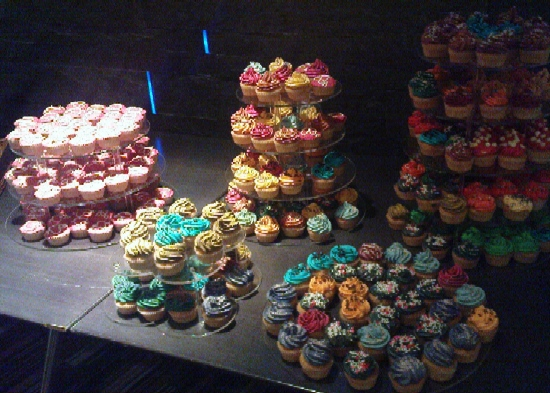 Irish Web Awards cupcakes