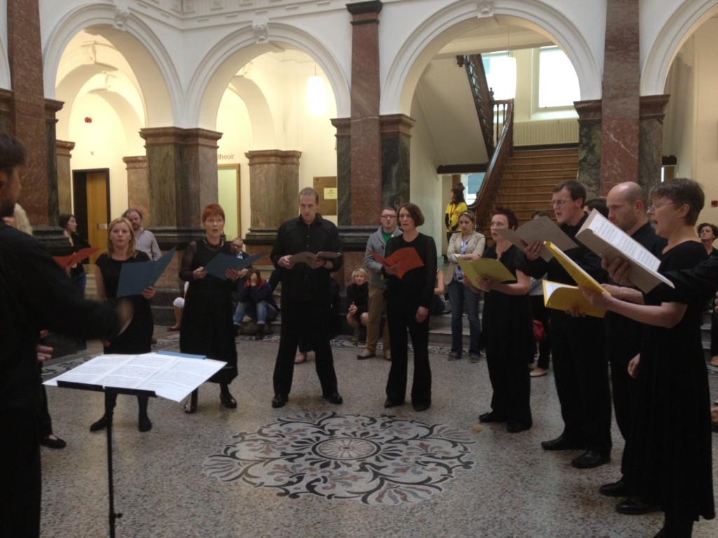 Cork Chamber Choir in Cork Courthouse