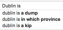 GoogleDublinIs
