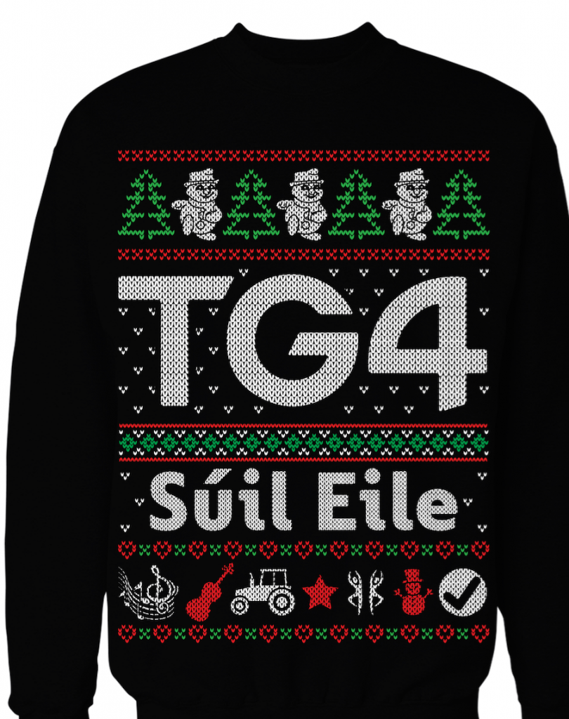 TG4 Christmas Jumper Colour Mockup