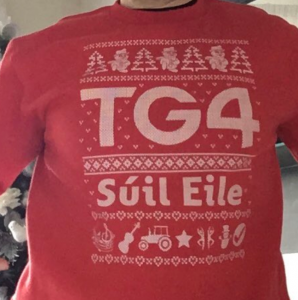 TG4 Christmas Jumper