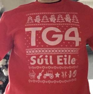 TG4 Christmas Jumper